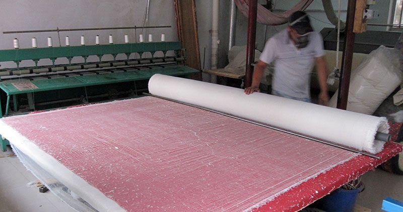 雷竞技app下载苹果千层大型被褥加工部压棉机工程过程实拍1.jpg