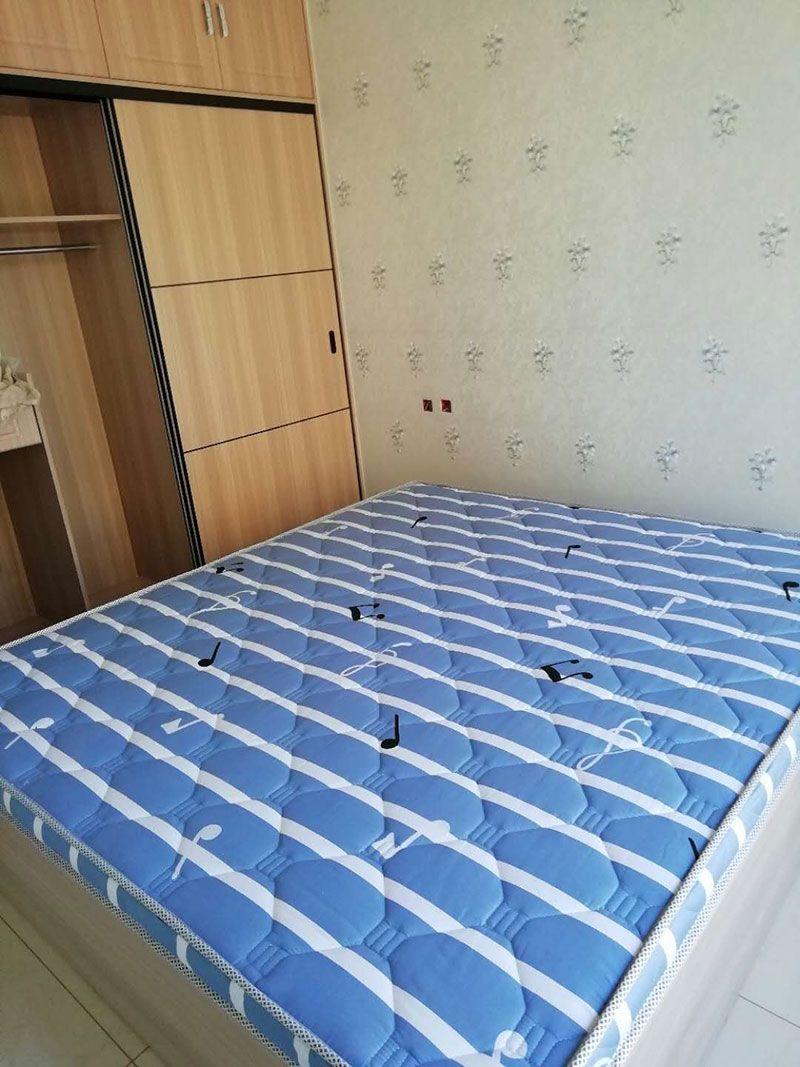 乐虎国际电子游戏梦美床垫-给客户定做安装好的棕垫实拍-1.jpg