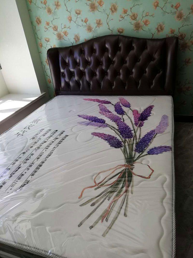 乐虎国际电子游戏梦美床垫-给客户定做安装好的棕垫实拍-4.jpg