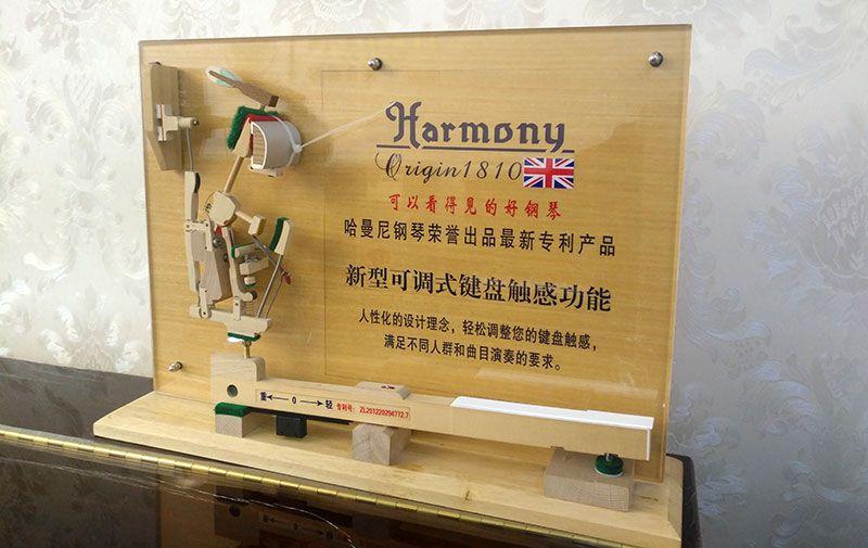 乐虎国际电子游戏天籁琴行-哈曼尼钢琴-可调式键盘触感功能.jpg