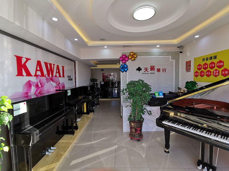 乐虎国际电子游戏天籁琴行-卡瓦依钢琴整体实拍-4.jpg